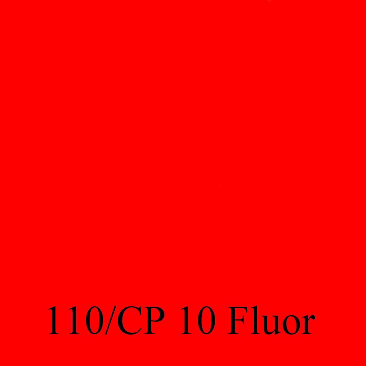 110-CP 10 Naranja fluor