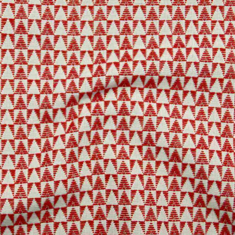 Miami Small Triangles Red