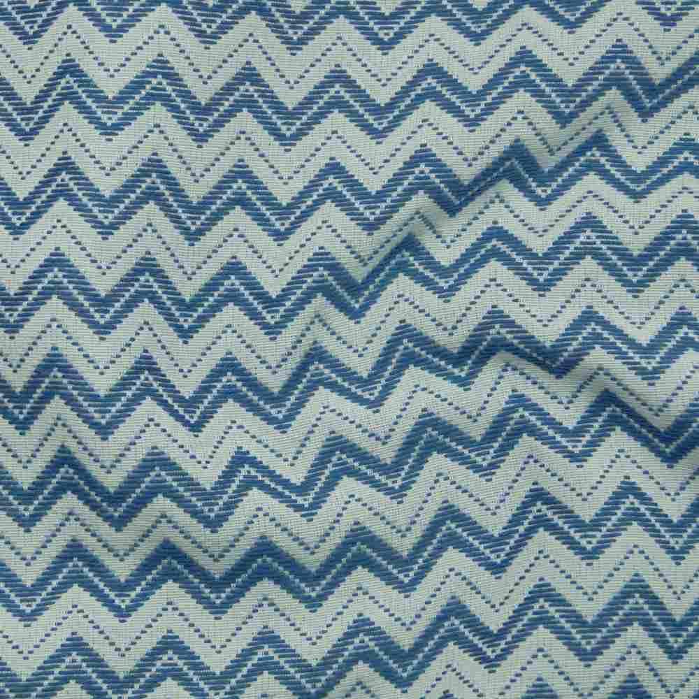 Miami Zigzag Blue Jean