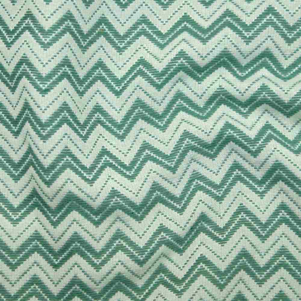 Miami Zigzag Green