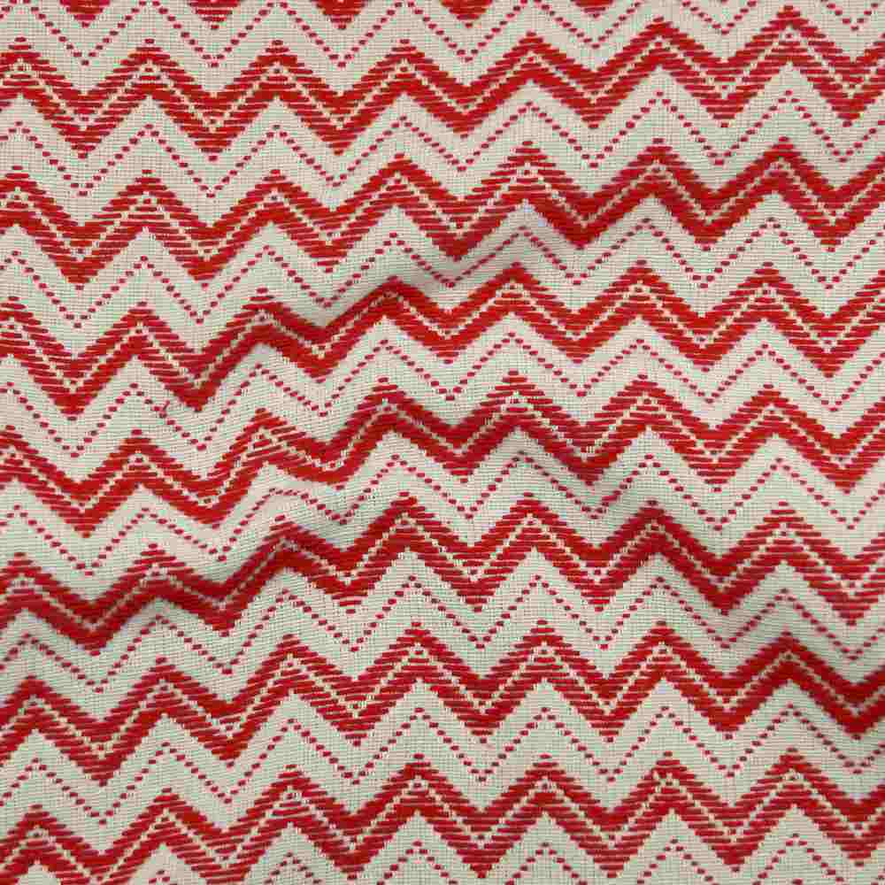 Miami Zigzag Red