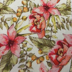 Audrey Flowers Print