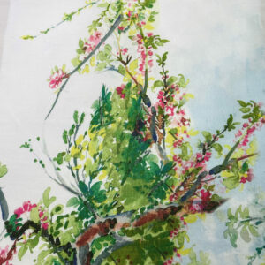 Cotton di Flowers Print